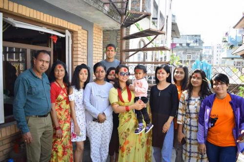 Celebrating Dashain