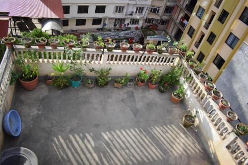 Roof Top - Radiant Girls Hostel